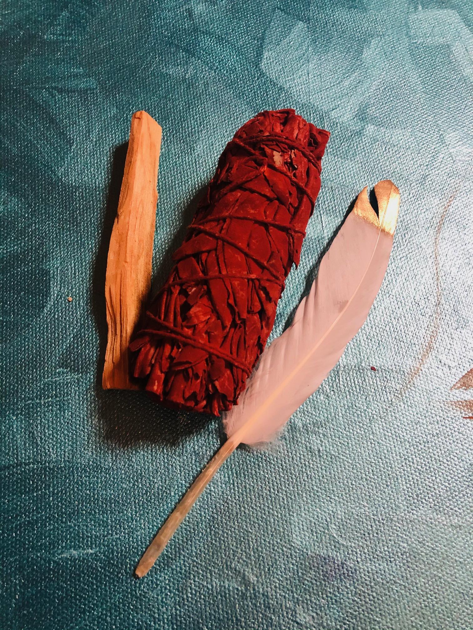 Mini Cleansing Kit with Dragon's Blood Sage