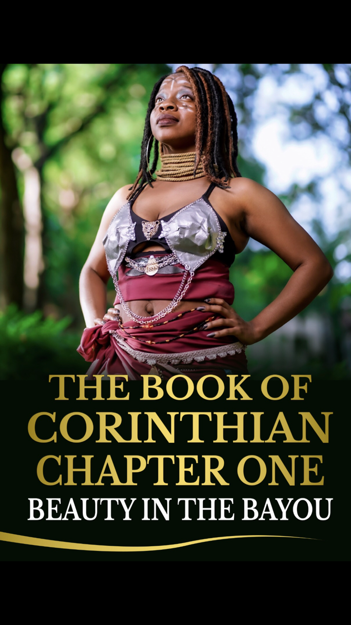 Signed Copy of The Book of Corinthian Chapter One: Beauty in the Bayou