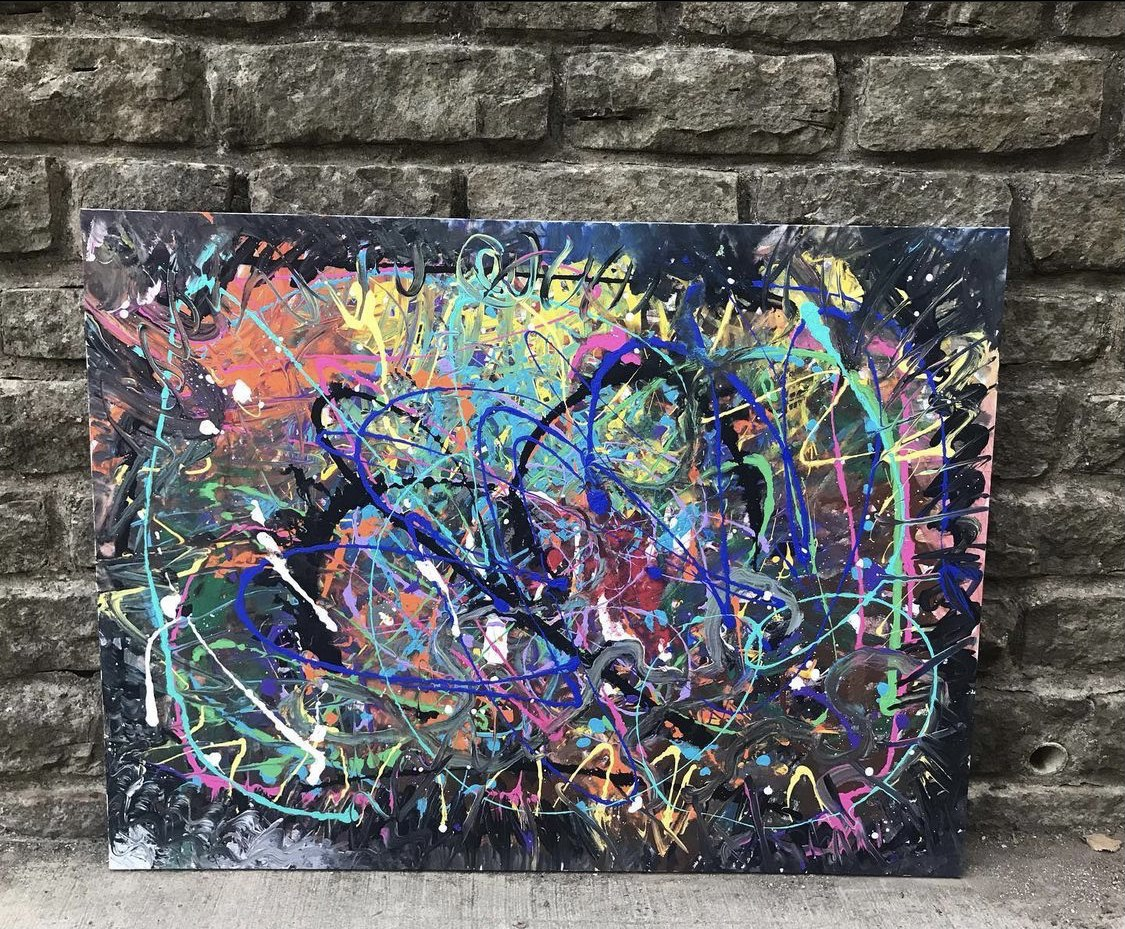 """Ready to Hang 3ft x 4ft Canvas Painting """"Reconciliation"""""""